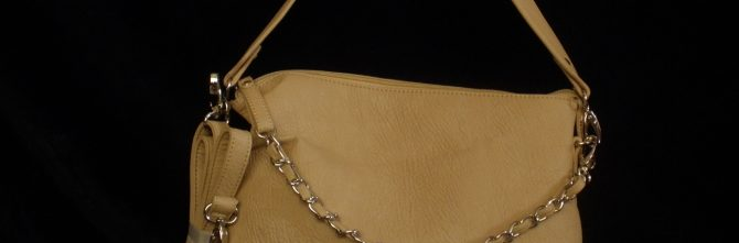 Evelyn Belted Chain  Bag