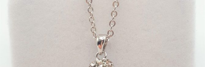 Crystal Heart Duchess Necklet