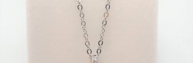Crystal Round Brilliant Necklet